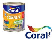 Tinta Esmalte Brilhante Coralit Zero B.Água 3,6L Branco Acet. -