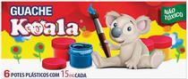 Tinta Guache 015ML 06 Cores Koala (7897464700545) - Delta