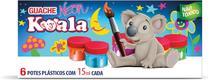 Tinta Guache 015ML 06 Cores Neon Koala - Delta