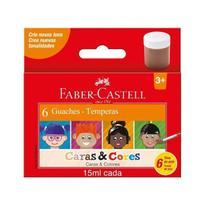 Tinta Guache caras e Cores 15ML 161106CC-Faber Castell -