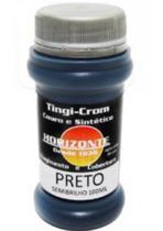 Tinta Horizonte - Semi-Brilho - 100 ml - Cor: Preto -