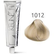 Tinta Keune Color Ultimate Blonde 60ml - Cor 1012 - Louro Cinza Perolado -