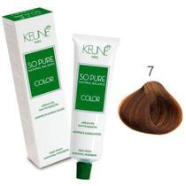 Tinta Keune So Pure 60ml - Cor 7 - Louro Médio -