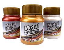 Tinta Metal Colors Acrílica Metálica 37ml - Acrilex 532 - Ouro -