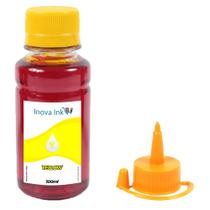 Tinta para Epson Ecotank L4160 Yellow 100ml Inova Ink