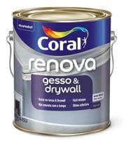 Tinta Para Gesso E Drywall Renova Branco 3,6lt Coral -