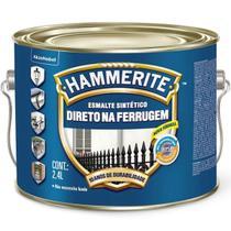 Tinta para Metais Hammerite Prata Brilhante 2.4 litros Direto na Ferrugem - Coral