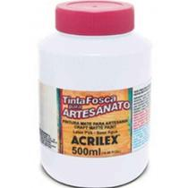 Tinta Para Pva 500 Ml Fosca 519 Branca Acrilex -