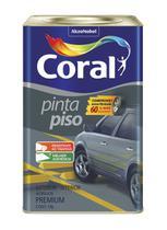Tinta Pinta Piso fosco cinza médio 18L Coral -