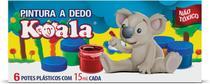 Tinta Pintura a Dedo 06 Cores 15ML Koala - Delta
