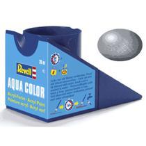 Tinta plastimodelismo aço metálico - 18ml aqua color rev 36191 - Revell