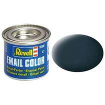 Tinta Plastimodelismo Cinza Granito Fosco - 14ml Esmalte Sintético REV 32169 - Revell