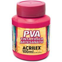 Tinta PVA 03210 100ml Rosa Escuro 542 Acrilex -