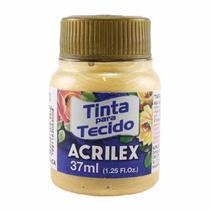 Tinta tecido metal 37ml ouro-043400532 - Acrilex