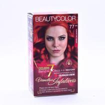 Tintura Beauty Color Kit Nova 77.44 Vermelho Sedução -