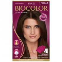 Tintura Biocolor 4.7 Marrom Escuro -