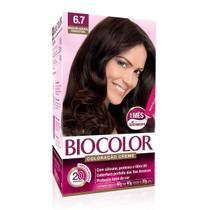 Tintura Biocolor 6.7 Marrom Natural -