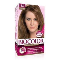 Tintura Biocolor 8.0 Louro Claro -