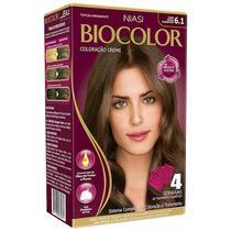 Tintura Biocolor Coloração Creme 6.1 Louro Escuro Acinzentado -