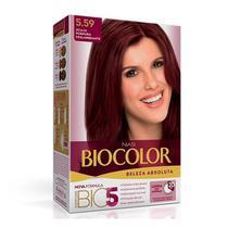 Tintura Biocolor Coloração Creme Acaju Púrpura 5.59 Mini Kit -