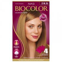 Tintura Biocolor Kit Creme Louro Claro Cendré - 8.31 -