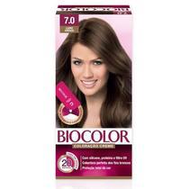 Tintura Biocolor Mini Kit 7.0 Louro Arraso - Niasi