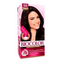Tintura Creme Biocolor Castanho Claro Luxuoso 5.0 Mini Kit -