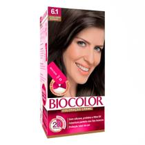 Tintura Creme Biocolor Louro Cinza Moderno 6.1 Mini Kit -