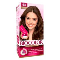 Tintura Creme Biocolor Louro Escuro Clássico 6.0 Mini Kit -