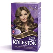 Tintura Koleston Kit 70 Louro Médio - Wella