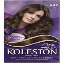 Tintura permanente koleston 537 marrom sedução - Sem marca