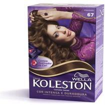 Tintura permanente koleston 67 chocolate - Sem marca