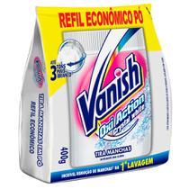 Tira Manchas em Pó Vanish Oxi Action Crystal White 400g - Deixa o branco mais branco. - Reckitt B.