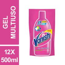 Tira Manchas Gel Multiuso Refil Vanish 500ml Sachet Kit 12un