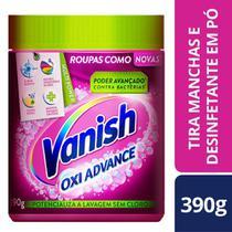 Tira Manchas Po Vanish Oxi Advance 390g Roupas Coloridas -