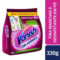 Tira Manchas Po Vanish Oxi Advance Refil 330g R/Coloridas -