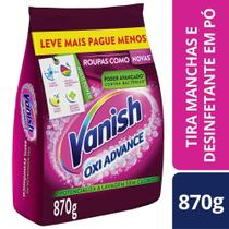 Tira Manchas Po Vanish Oxi Advance Refil 870g R/Coloridas -