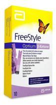 Tiras De Cetose Freestyle Optium Com 10 Tiras -