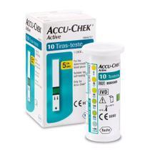 Tiras de Glicemia Accu-Chek Active com 10 unidades - Roche