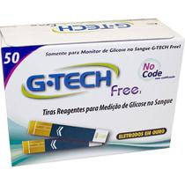 Tiras G-tech Free Com 50 Unidades -