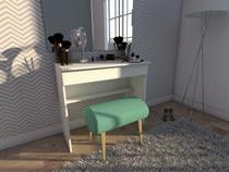 Escrivaninha/Mesa para Computador 1 Gaveta - BRV Móveis BHO 21-06