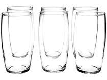 Jogo de Copos de Vidro 300ml 6 Peças Nadir - Oca Long Drink