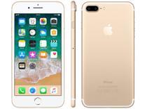 "iPhone 7 Plus Apple 32GB Dourado 4G 5,5"" Retina - Câm. 12MP + Selfie 7MP iOS 10 Proc. Chip A11"
