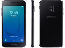 "Smartphone Samsung Galaxy J2 Core 16GB Preto - 4G 1GB RAM Tela 5"" Câm. 8MP + Câm. Selfie 5MP"