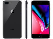 "iPhone 8 Plus Apple 128GB Cinza Espacial 4G - Tela 5,5"" Retina Câmera 12MP + Selfie 7MP"