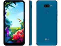 "Smartphone LG K40S 32GB Azul 4G Octa-Core - 3GB RAM 6,1"" Câm. Dupla + Câm. Selfie 13MP"