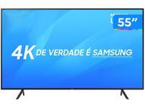 "Smart TV 4K LED 55"" Samsung NU7100 Wi-Fi HDR - 3 HDMI 2 USB"