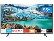 """Smart TV 4K LED 55"""" Samsung UN55RU7100GXZD - Wi-Fi Bluetooth HDR 3 HDMI 2 USB"""