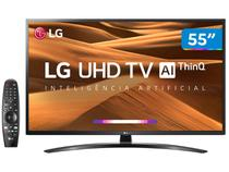 "Smart TV 4K LED 55"" LG 55UM7470PSA Wi-Fi HDR - Inteligência Artificial Controle Smart Magic"