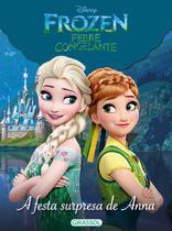 Livro - Disney - mundo Frozen - a festa surpresa de Anna -